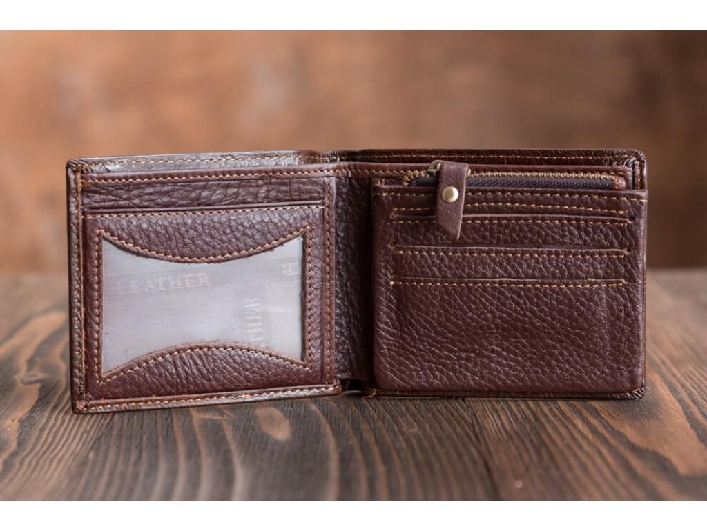 Кожаное портмоне TIDING BAG 87066-3C - Royalbag
