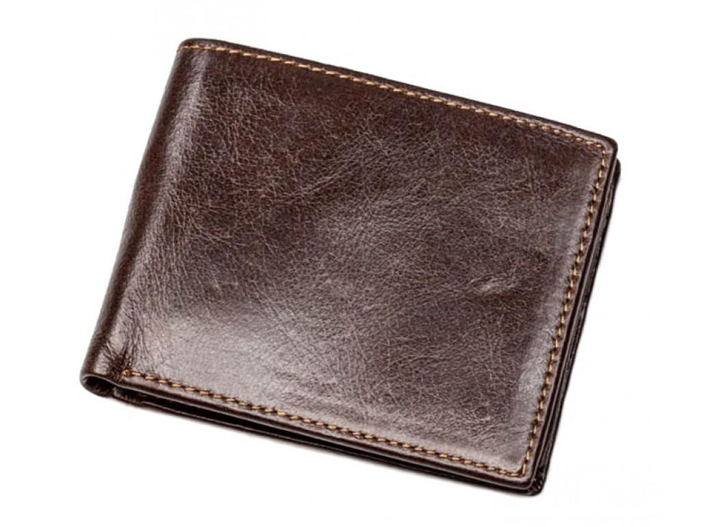 Кожаное портмоне TIDING BAG 87066-3C - Royalbag Фото 1