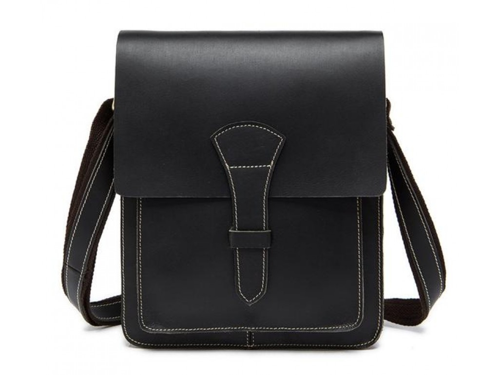 Мужская сумка через плечо TIDING BAG T1112A - Royalbag Фото 1