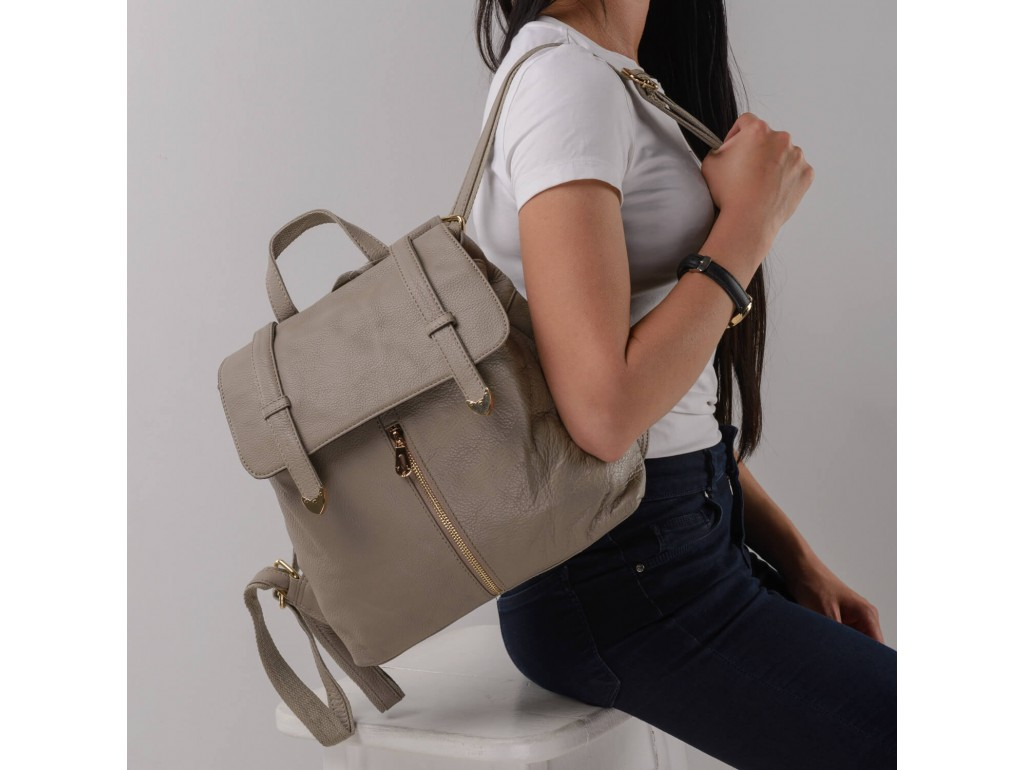 Женский рюкзак Olivia Leather JJH-6035BG-BP - Royalbag