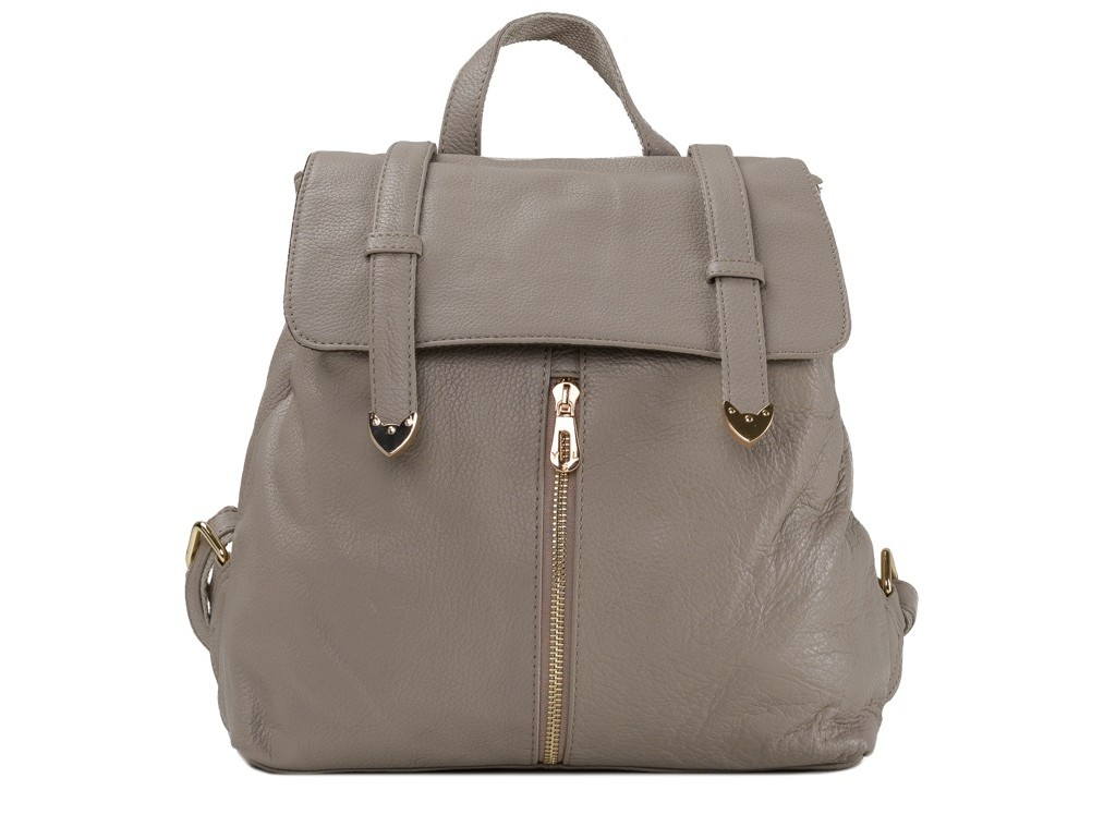 Женский рюкзак Olivia Leather JJH-6035BG-BP - Royalbag Фото 1