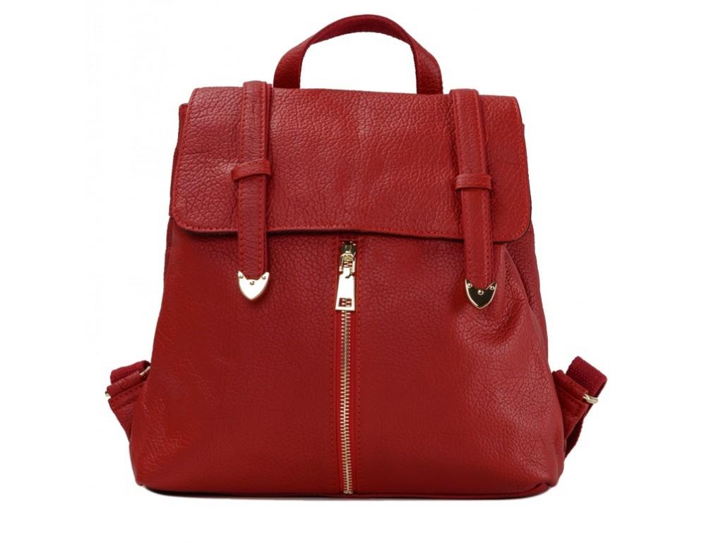 Женский рюкзак Olivia Leather JJH-6035R-BP - Royalbag Фото 1