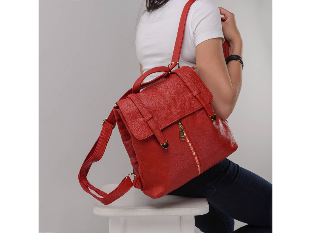 Женский рюкзак Olivia Leather JJH-6035R-BP - Royalbag