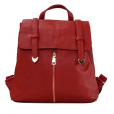 Женский рюкзак Olivia Leather JJH-6035R-BP - Royalbag Фото 2