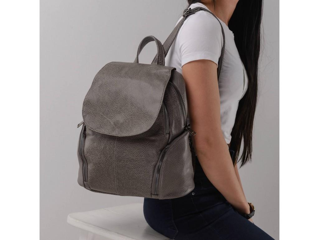 Женский рюкзак Olivia Leather JJH-6171G-BP - Royalbag Фото 1