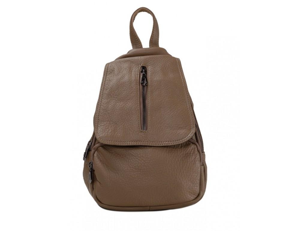 Женский рюкзак Olivia Leather JJH-8018BG-BP - Royalbag Фото 1