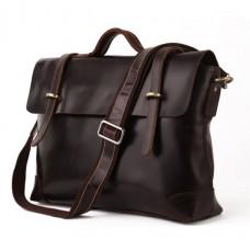 Мужской кожаный портфель TIDING BAG 7082C - Royalbag Фото 2