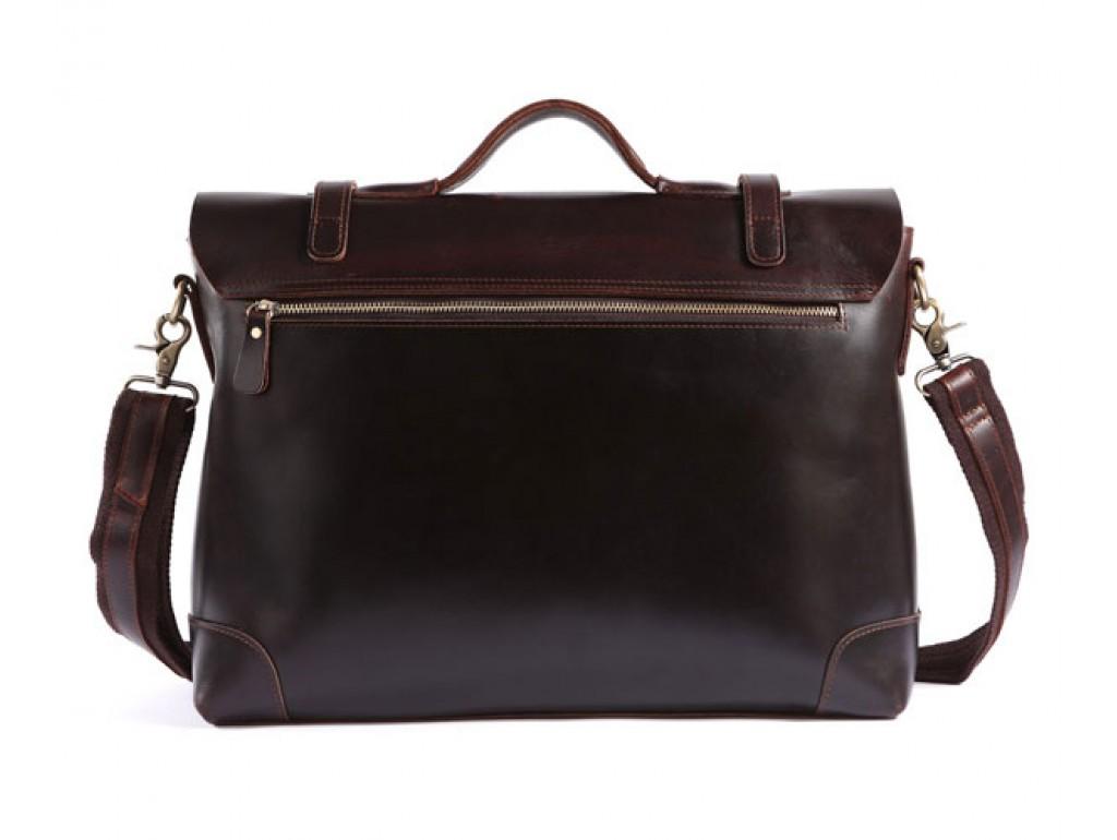 Мужской кожаный портфель TIDING BAG 7082C - Royalbag