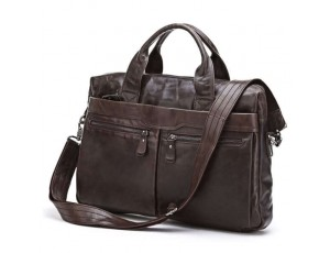 Модная мужская деловая сумка А4 кожа Jasper&Maine 7122C - Royalbag
