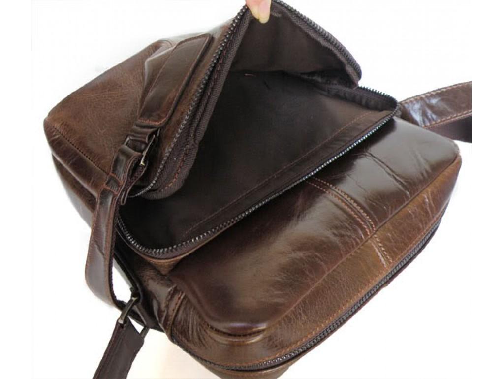 Мужская сумка-мессенджер из натуральной кожи Tiding Bag 6012 - Royalbag