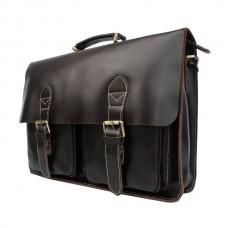 Мужской кожаный портфель TIDING BAG 7105C - Royalbag Фото 2