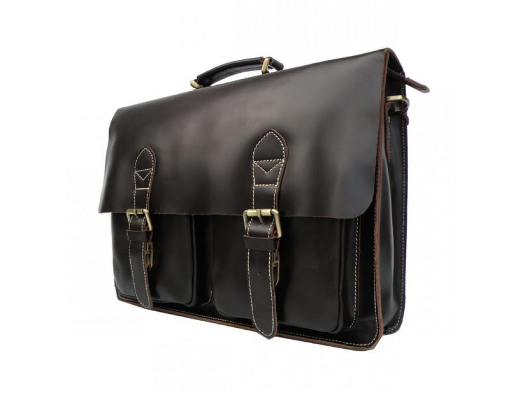 Мужской кожаный портфель TIDING BAG 7105C - Royalbag Фото 1