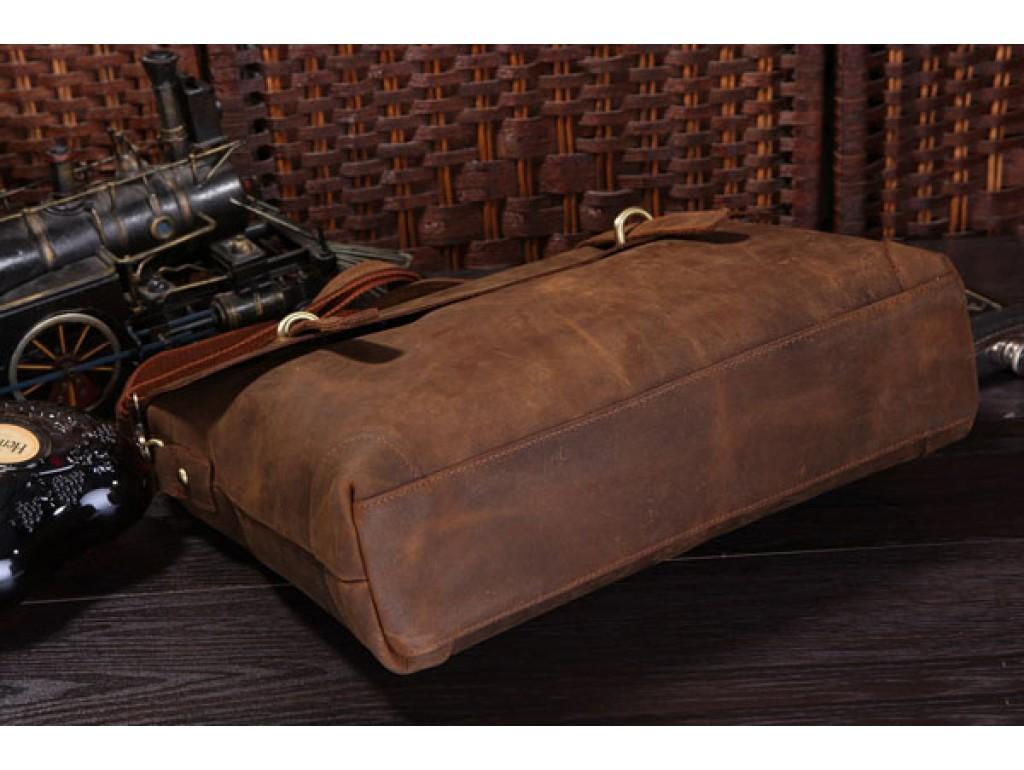 Мужской кожаный портфель TIDING BAG 7082R - Royalbag