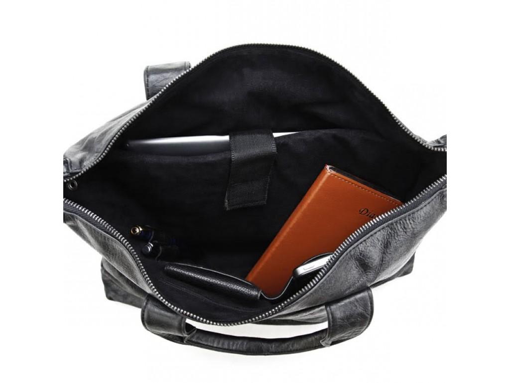 Оригинальня мужская кожаная сумка для документов Jasper & Maine 7120A - Royalbag