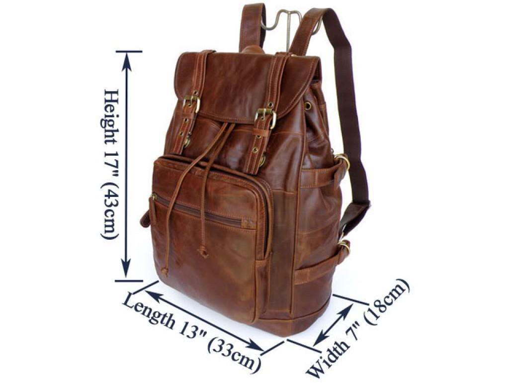 Рюкзак кожаный TIDING BAG 6058 - Royalbag