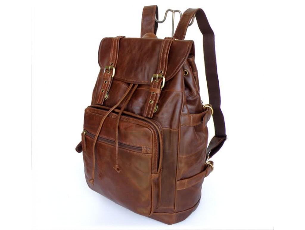 Рюкзак кожаный TIDING BAG 6058 - Royalbag Фото 1