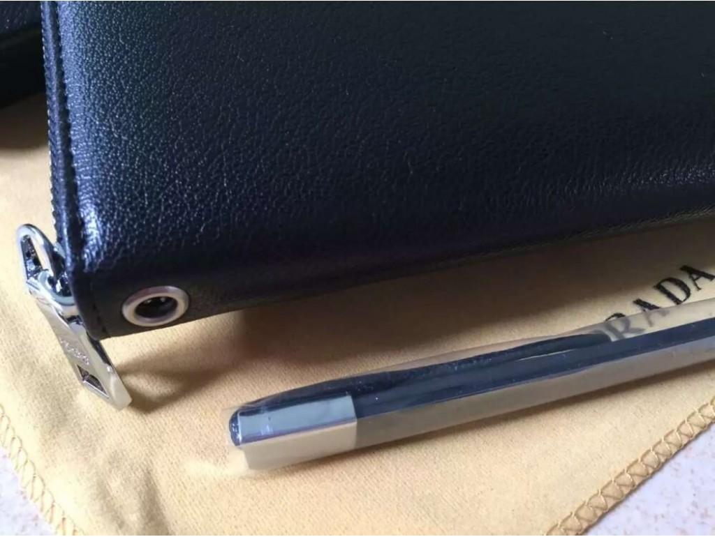 Кожаный клатч Wallet4-2697 - Royalbag