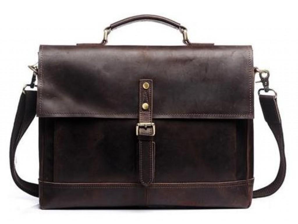 Портфель TIDING BAG S-8047B - Royalbag Фото 1