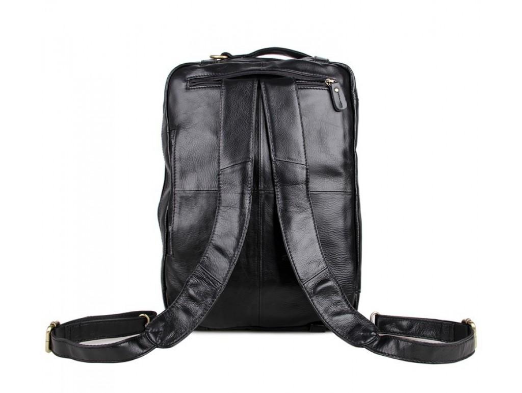 Сумка-рюкзак трансформер мужская кожаная TIDING BAG 7026A - Royalbag