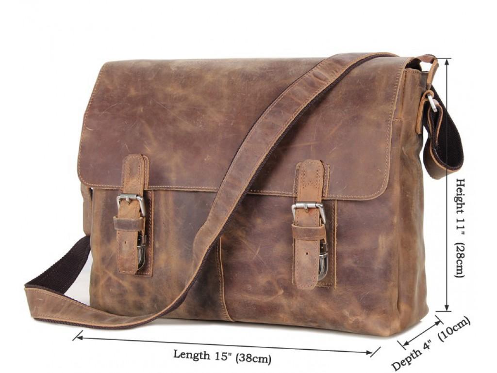 Мессенджер TIDING BAG 6002LR-1 - Royalbag