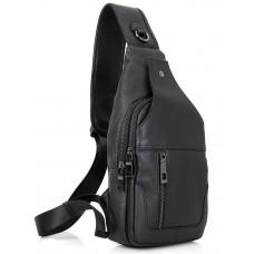 Кожаный рюкзак Tiding Bag 4004A