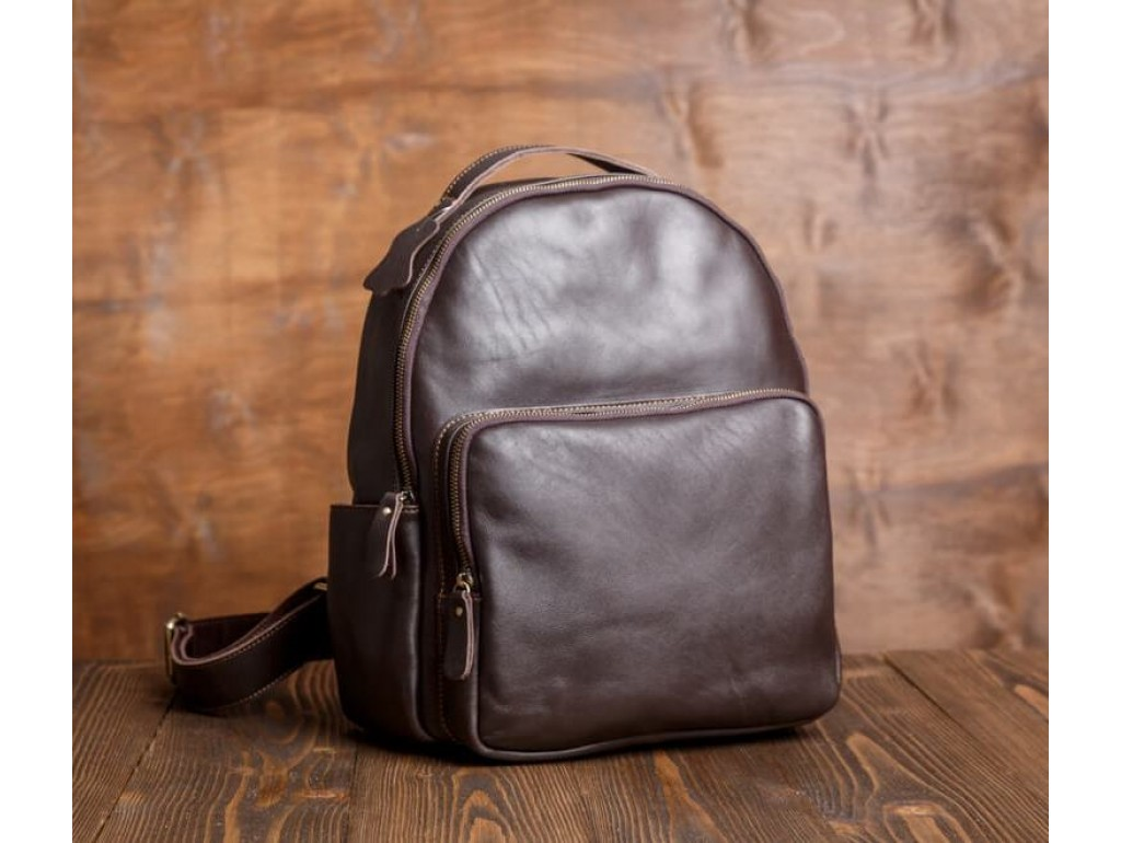 Рюкзак кожаный Tiding Bag Bp5-2828B - Royalbag