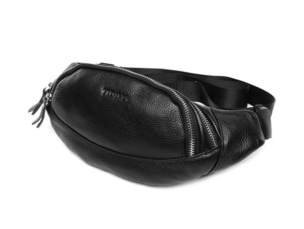 Кожаная сумка на пояс t3092 - Royalbag Фото 1