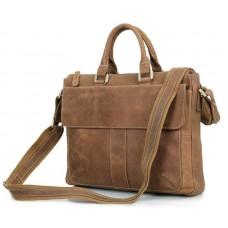 Кожаная сумка Tiding Bag 7113B-2 - Royalbag Фото 2