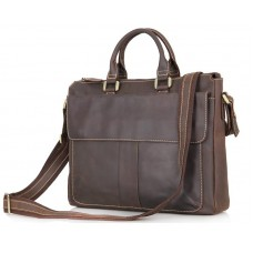 Кожаная сумка Tiding Bag 7113R-2 - Royalbag Фото 2