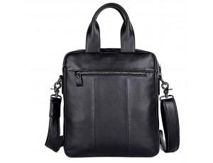 Вертикальная мужская сумка через плечо кожаная  Tiding Bag 7266A - Royalbag