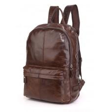 Кожаный рюкзак Tiding Bag 7273C-1 - Royalbag Фото 2