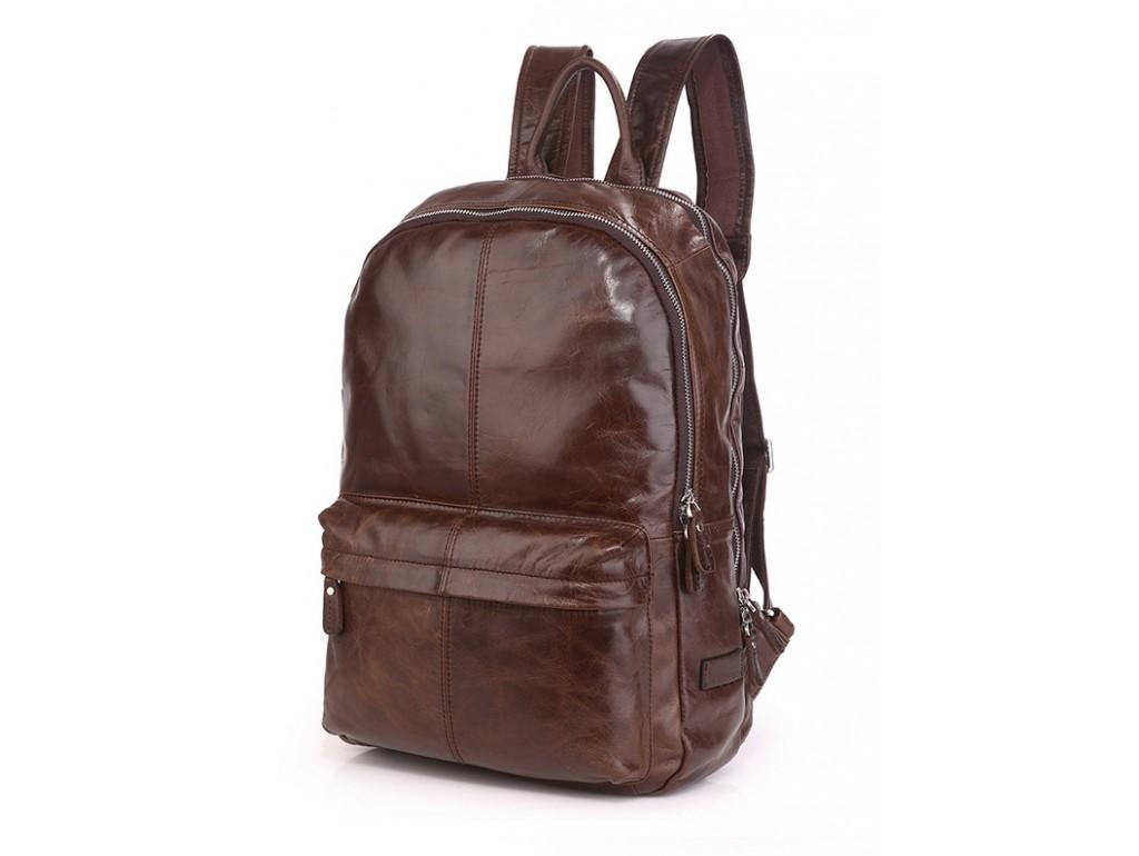 Кожаный рюкзак Tiding Bag 7273C-1 - Royalbag Фото 1