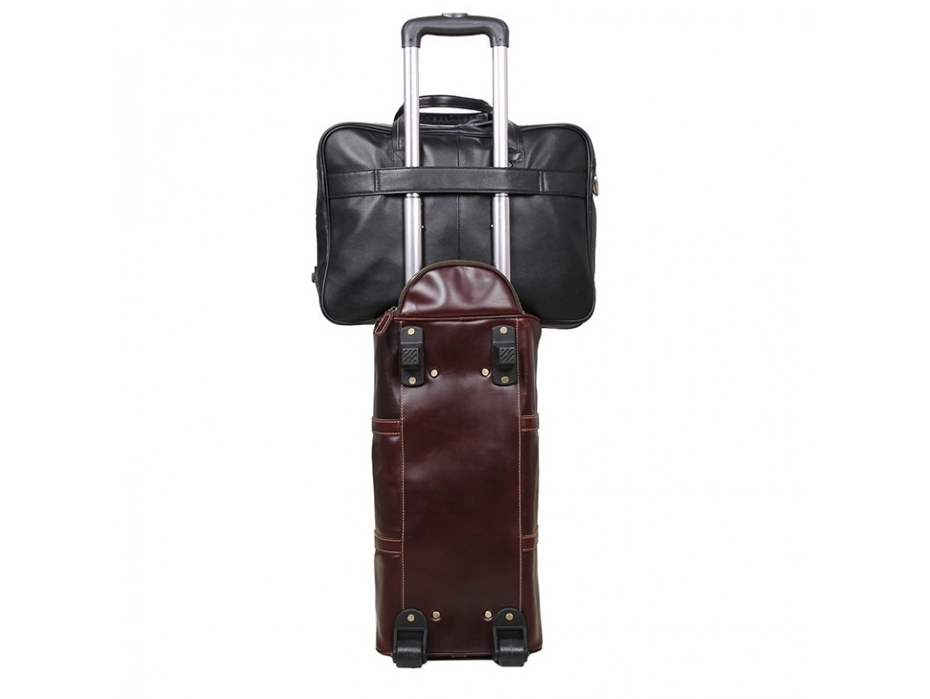 Мужская кожаная сумка-портфель для деловых поездок Tiding Bag 7367A - Royalbag