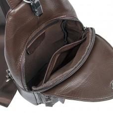 Мужская кожаная сумка-слинг через плечо Tiding Bag 8509C - Royalbag