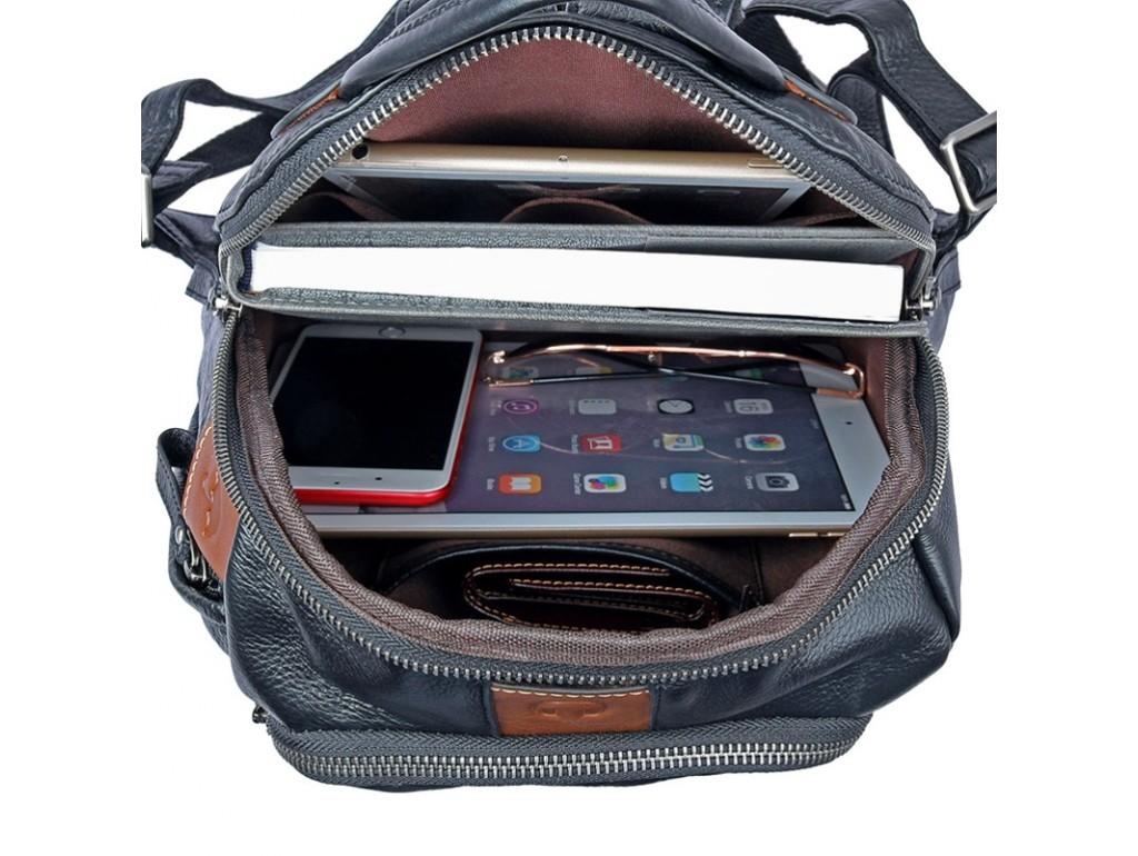Рюкзак кожаный Tiding Bag 88101A - Royalbag