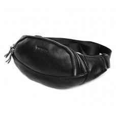 Кожаная сумка на пояс t3092 - Royalbag Фото 2