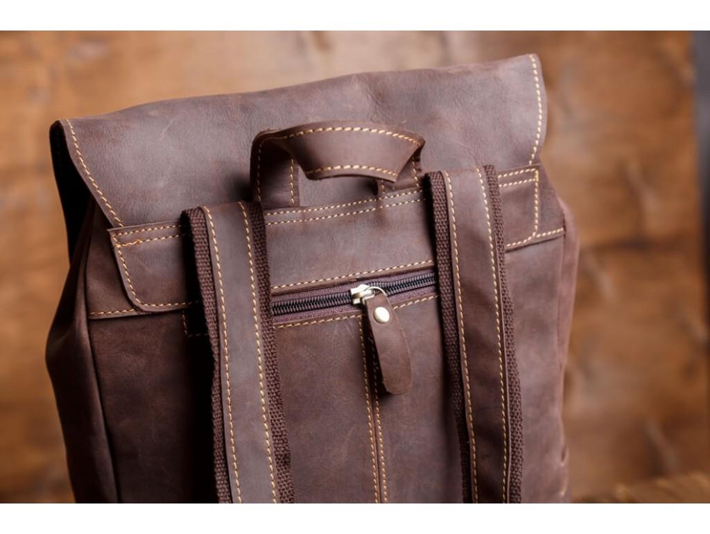 Рюкзак кожаный Tiding Bag G8877DB-1 - Royalbag