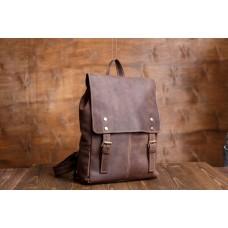 Рюкзак кожаный Tiding Bag G8877DB-1 - Royalbag Фото 2