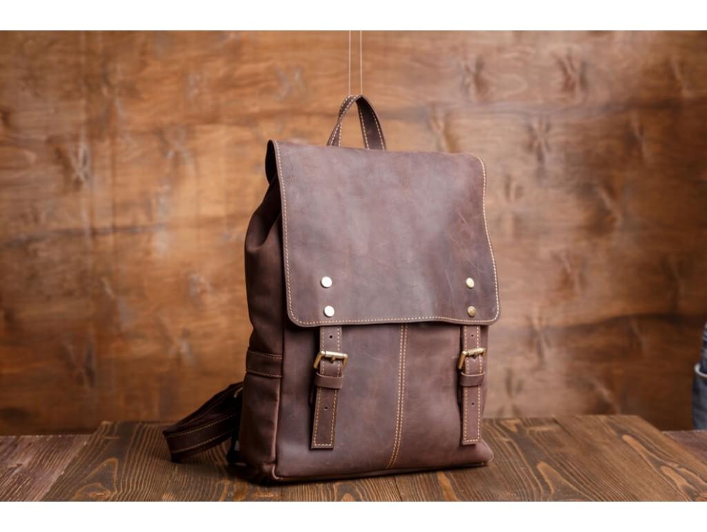 Рюкзак кожаный Tiding Bag G8877DB-1 - Royalbag Фото 1