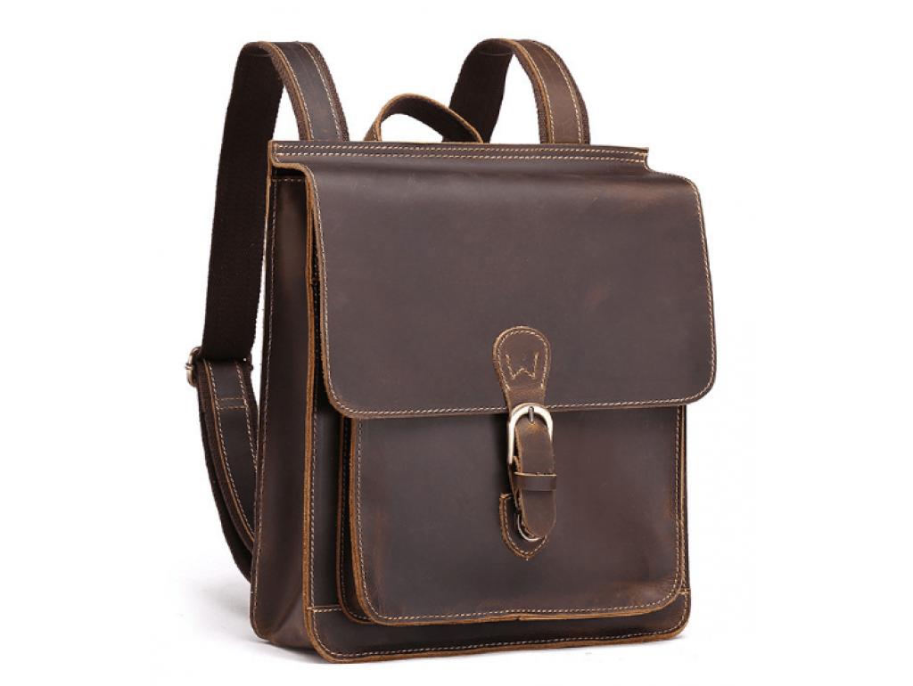 Рюкзак кожаный Tiding Bag L-9007 - Royalbag Фото 1