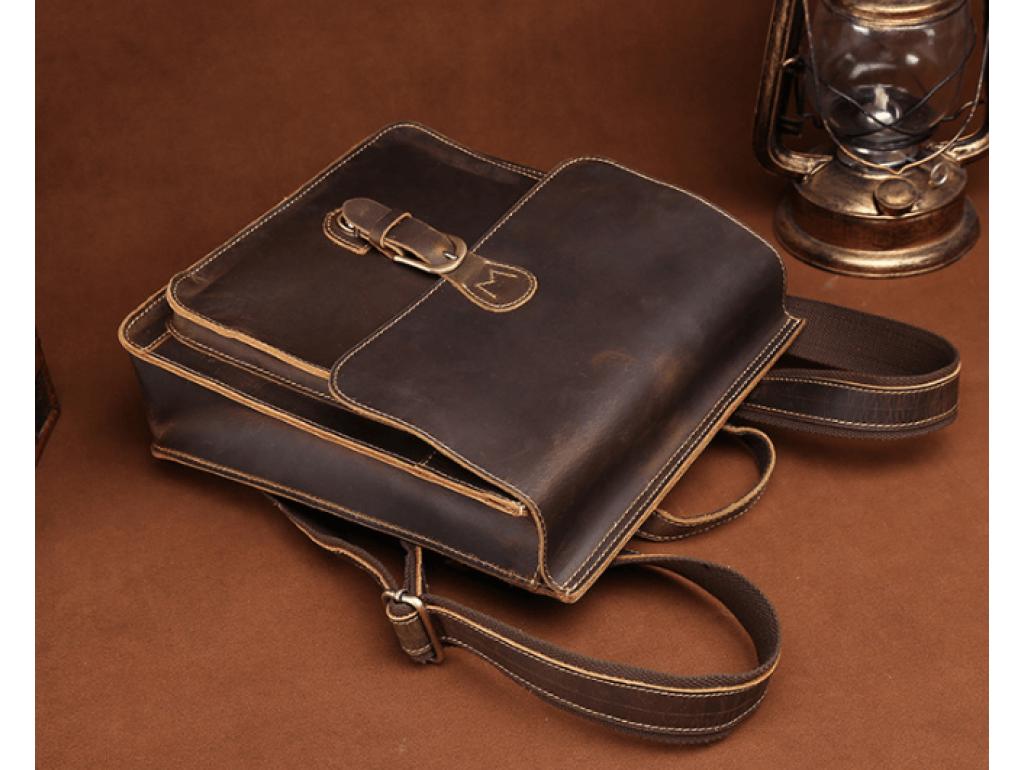 Рюкзак кожаный Tiding Bag L-9007 - Royalbag