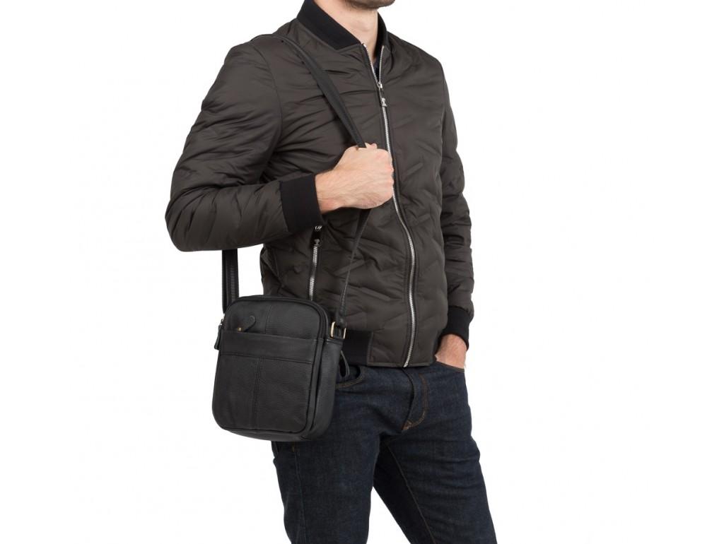 Мужская кожаная сумка на плечо Tiding Bag M38-1025A - Royalbag