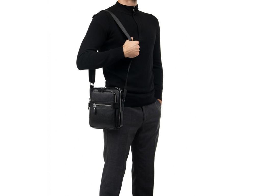 Сумка мужская через плечо из натуральной кожи Tiding Bag M5610A - Royalbag