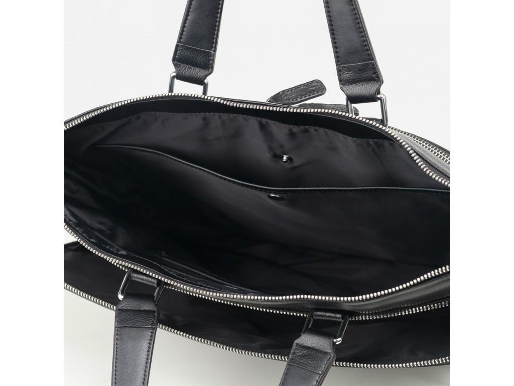 Деловая мужская кожаная сумка-портфель для документов Tiding Bag M664-4A - Royalbag