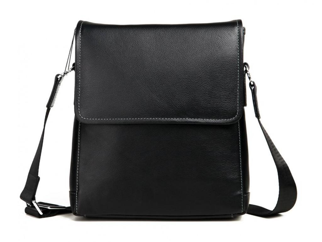 Кожаная наплечная мужская сумка Tiding Bag M685-2A - Royalbag
