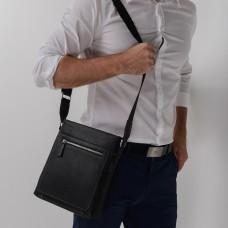 Классическая мужская кожаная сумка через плечо TIDING BAG NM17-9105-2A - Royalbag