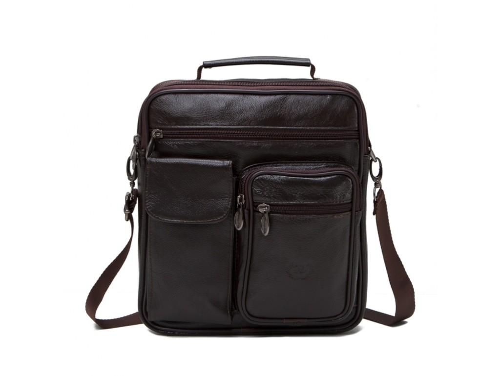 Мессенджер HD Leather NM24-105C - Royalbag