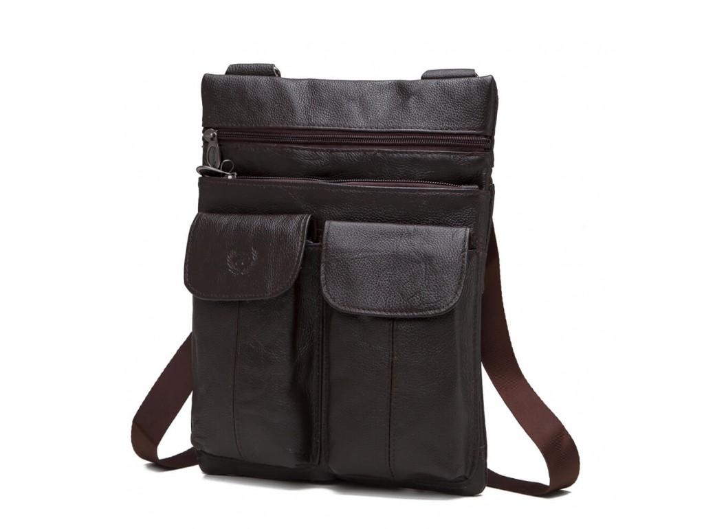 Мессенджер HD Leather NM24-603C - Royalbag Фото 1