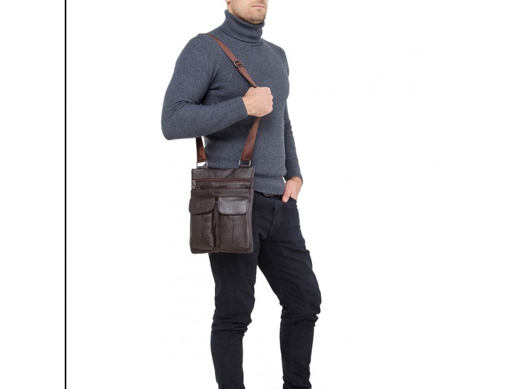Мессенджер HD Leather NM24-603C - Royalbag