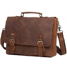 Мужской кожаный портфель TIDING BAG t0003 - Royalbag